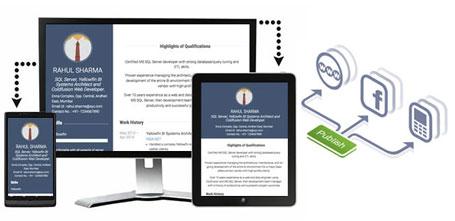 Publish CV Plus & Get Job Online